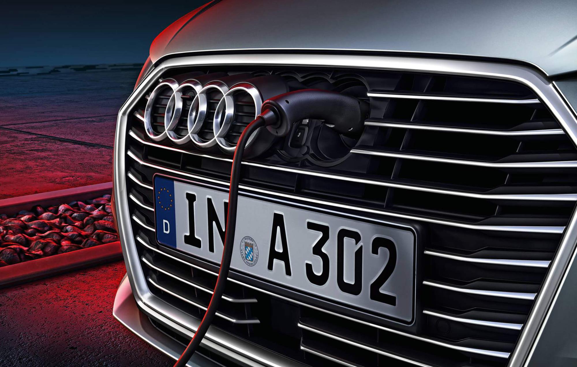 Audi A3 sportback etron grille