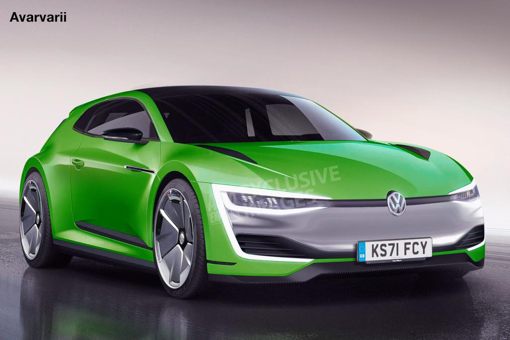 VW Scirocco electric