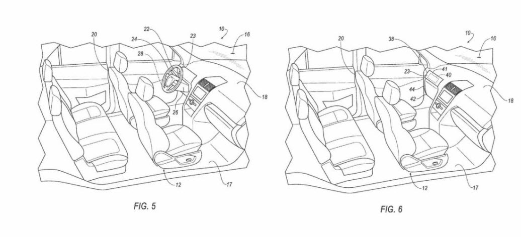 ford self-driving car patent