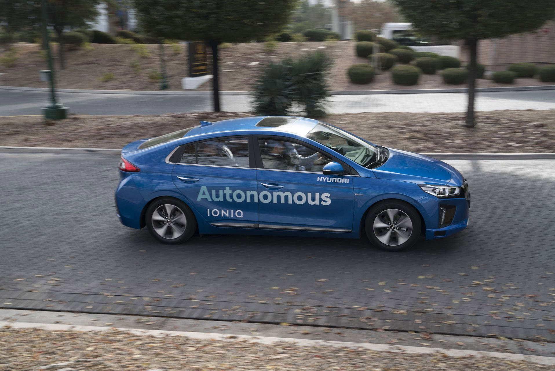 hyundai ioniq self driving car