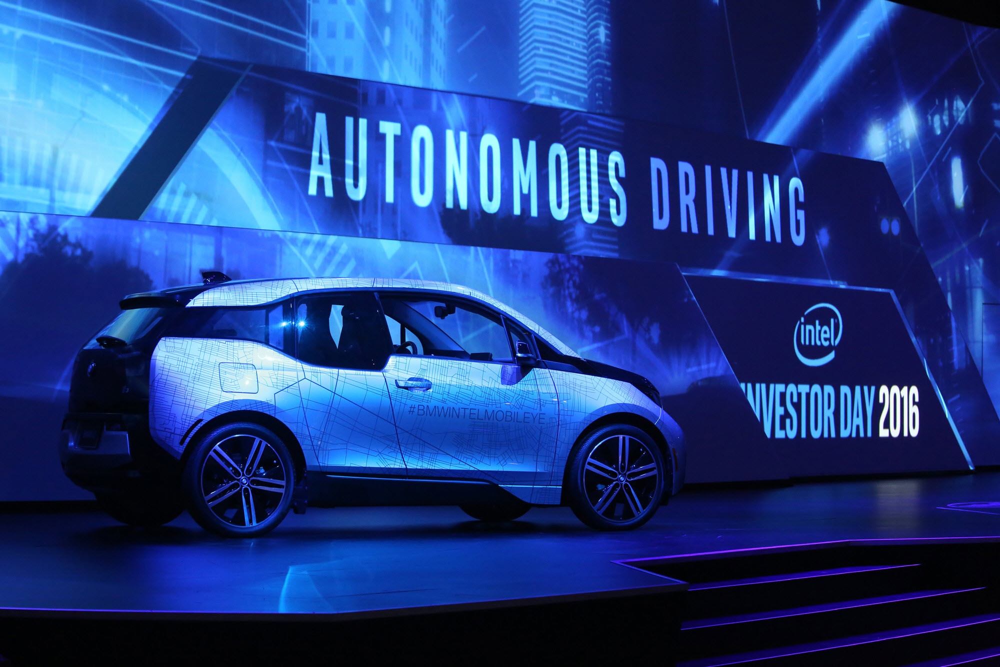 Intel self driving car