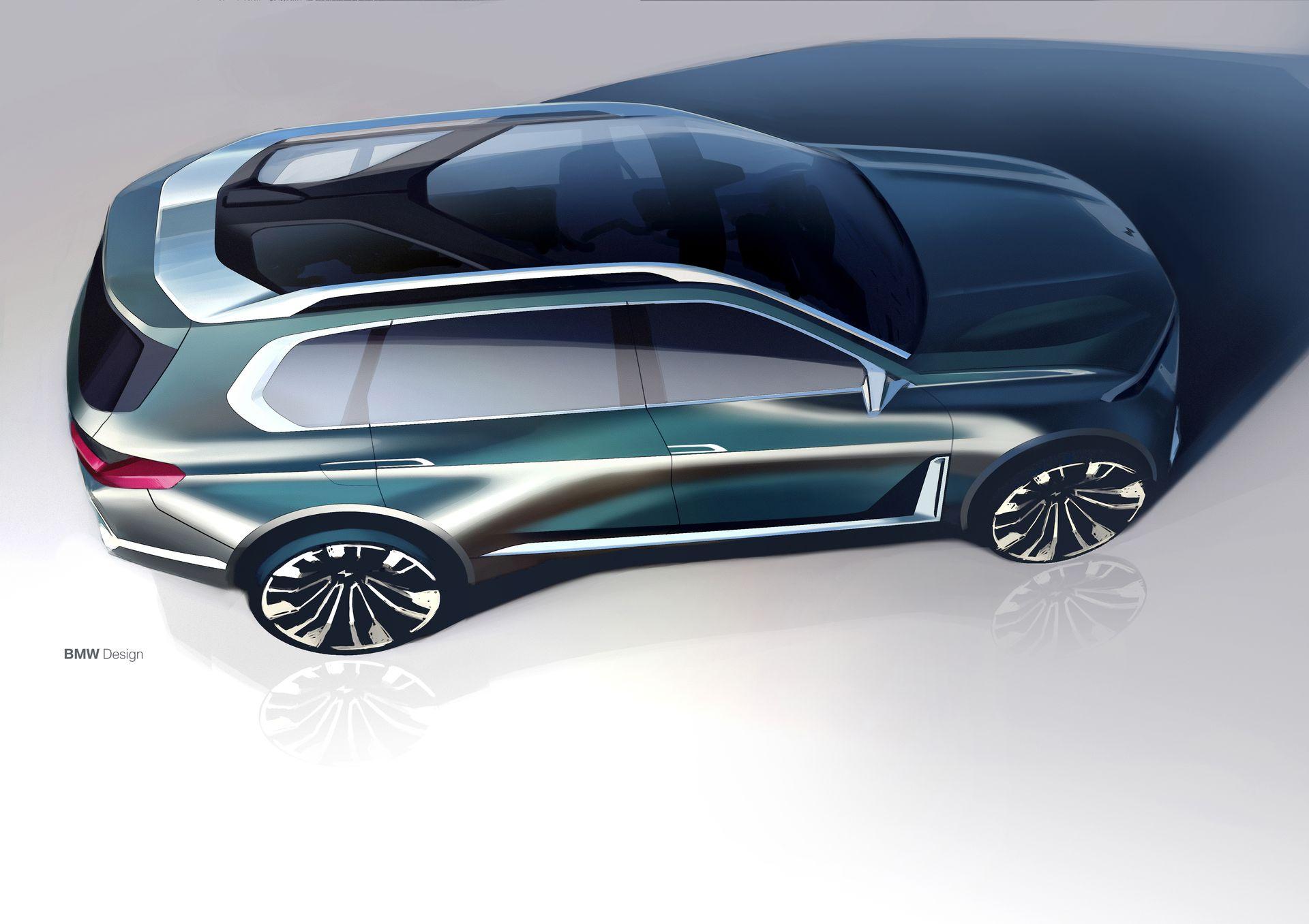 BMW X7 iPerformance design