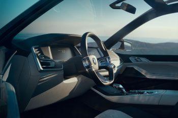 BMW X7 iPerformance interior