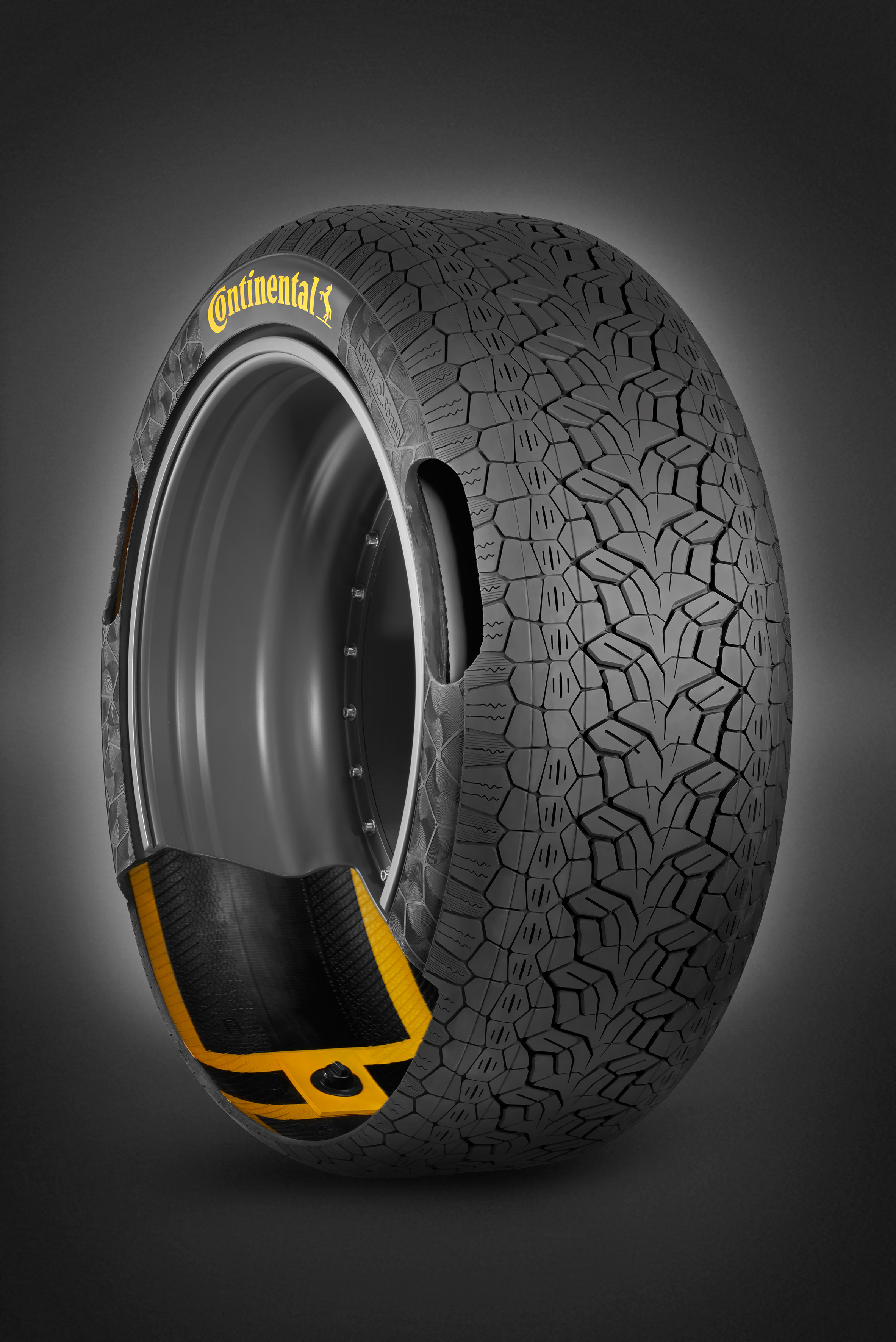 Continental ContiSense smart tires