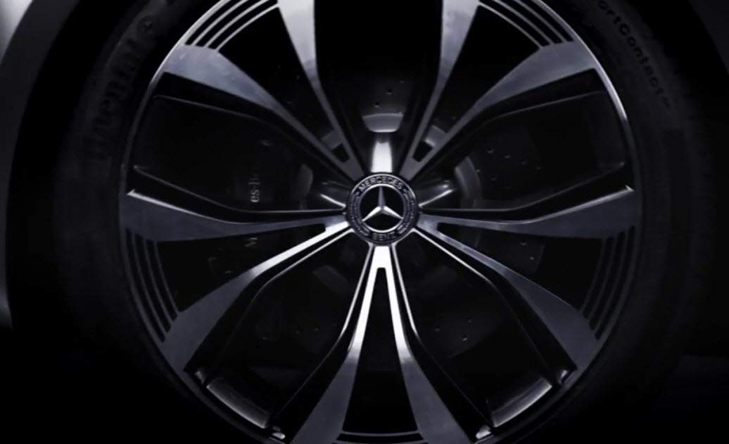 Mercedes EQ Concept A teaser