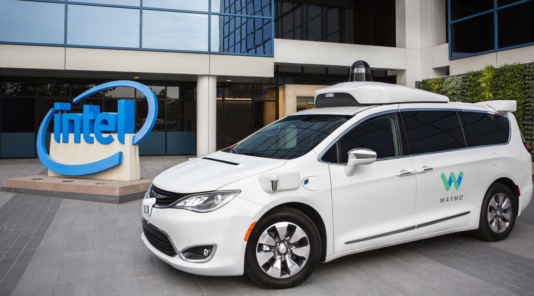 intel waymo self driving car