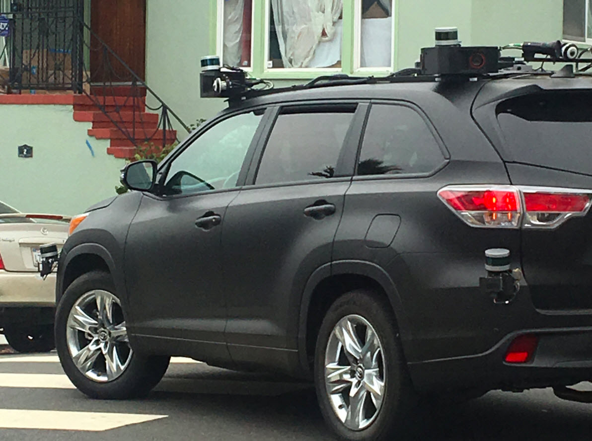 Self driving toyota