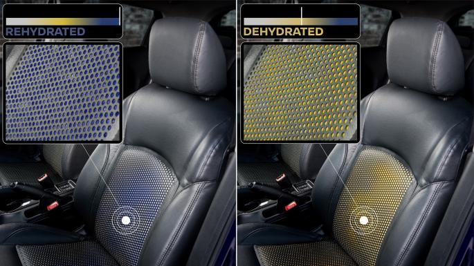 Nissan Sweat sensor