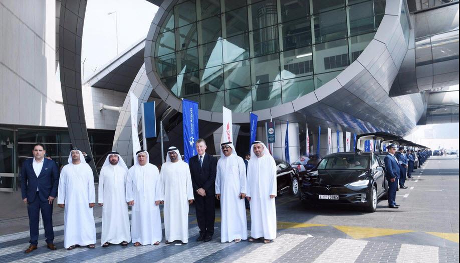 Tesla Dubai Taxi