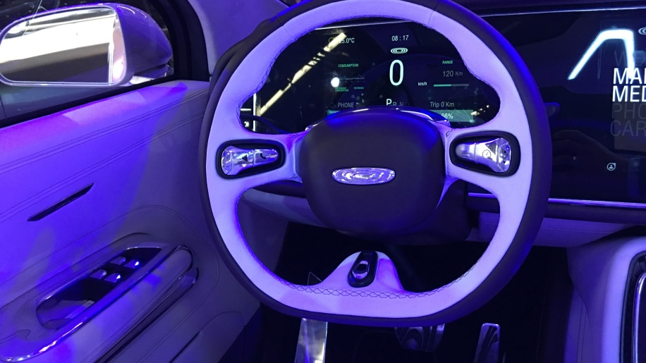 Thunder Power SUV interior