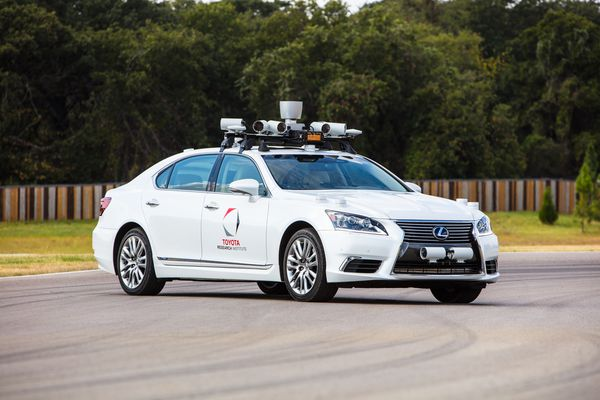 toyota self driving car platform 2.1