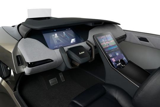 Mitsubishi Electric EMIRAI 4 interior