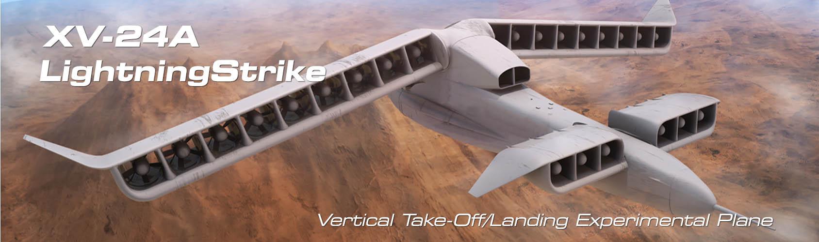 Aurora VTOL experimental plane