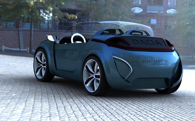 Dacia Shift concept