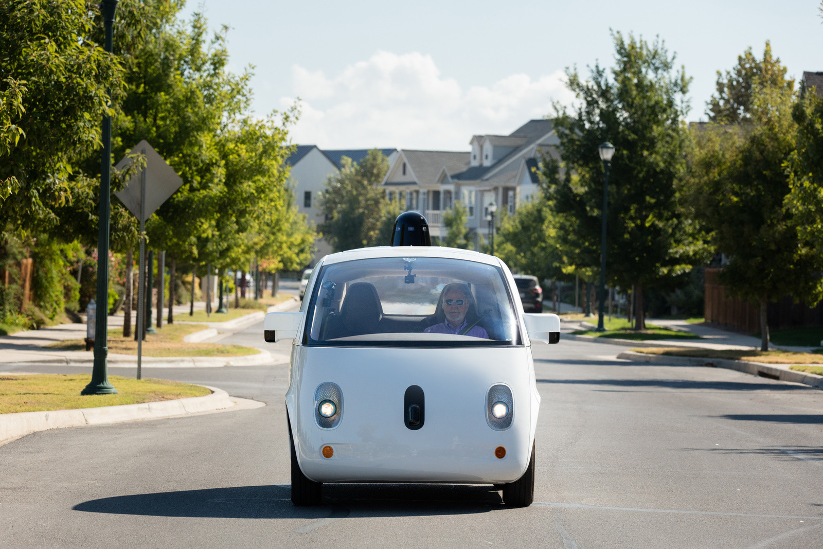 Google waymo self-driving car
