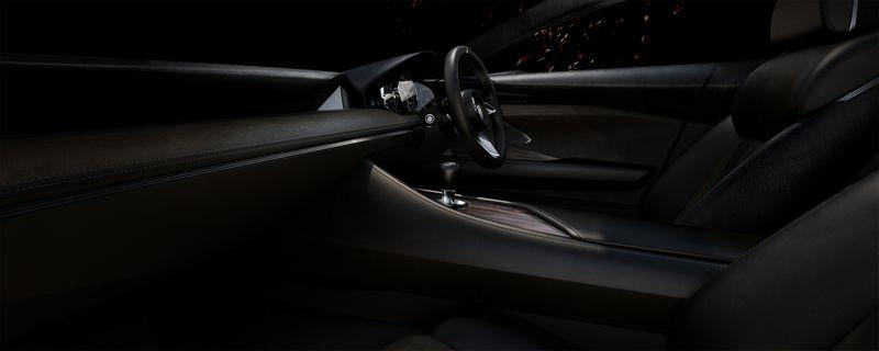 Mazda Vision Coupe Concept interior