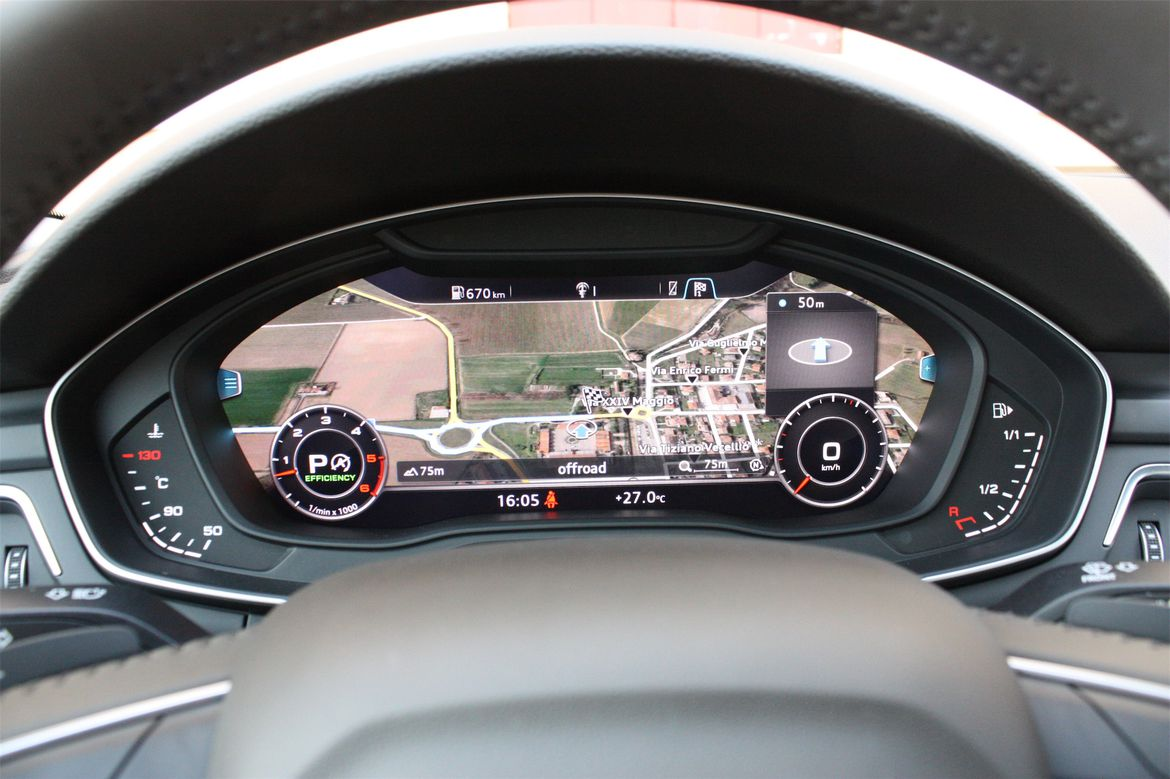 Audi MMI virtual cockpit