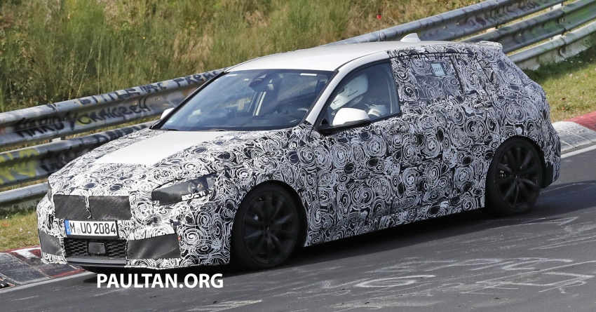 BMW Series 1 camouflage