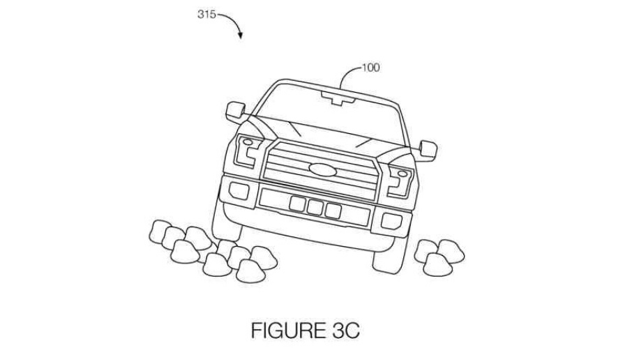 ford off-road patent