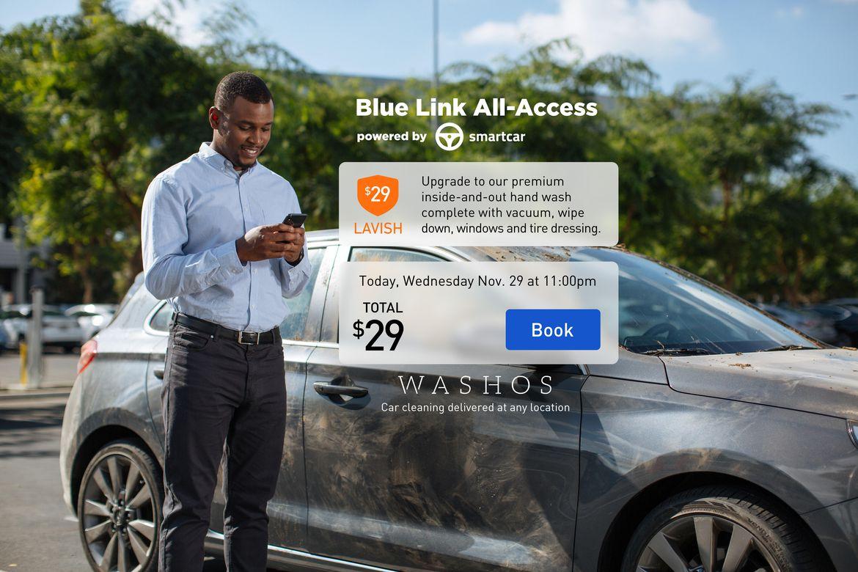 Hyundai Smartcar Blue Link