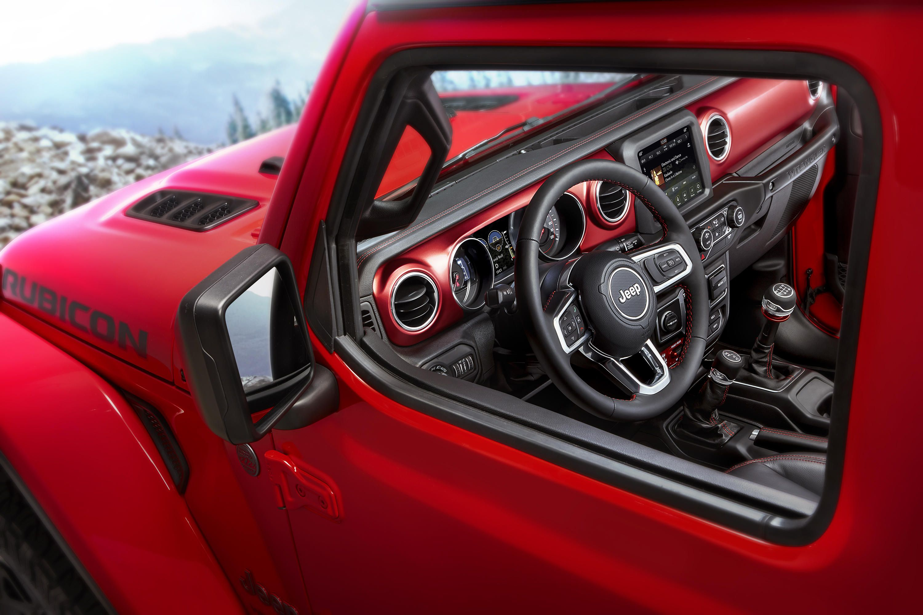 jeep wrangler interior 2018