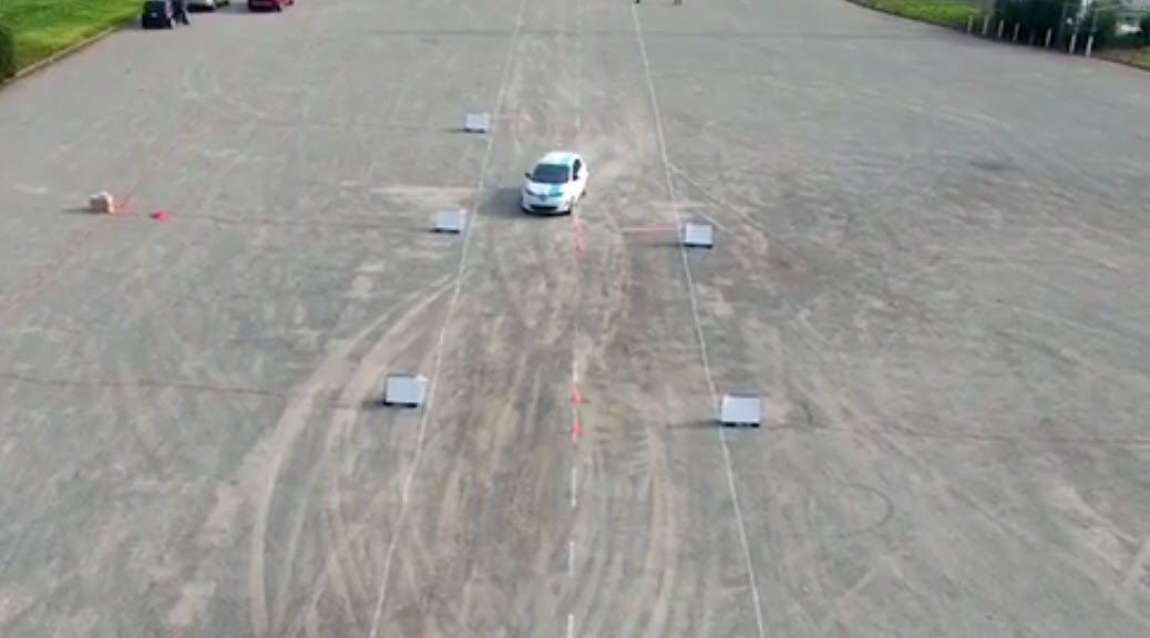 renault self-driving avoid obstacles