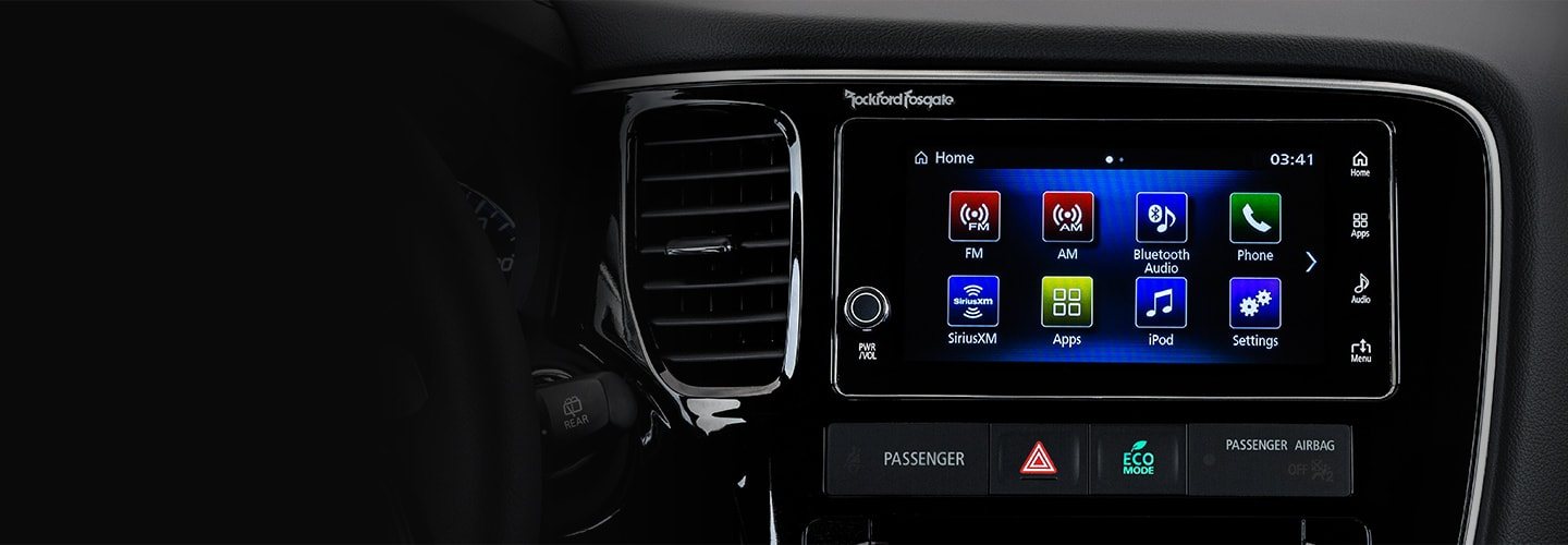Smart Touchscreen Technology 2018 Mitsubishi Outlander