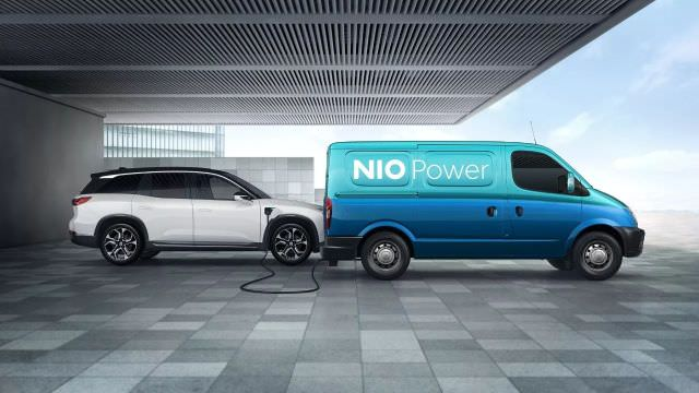 Nio ES8 power van