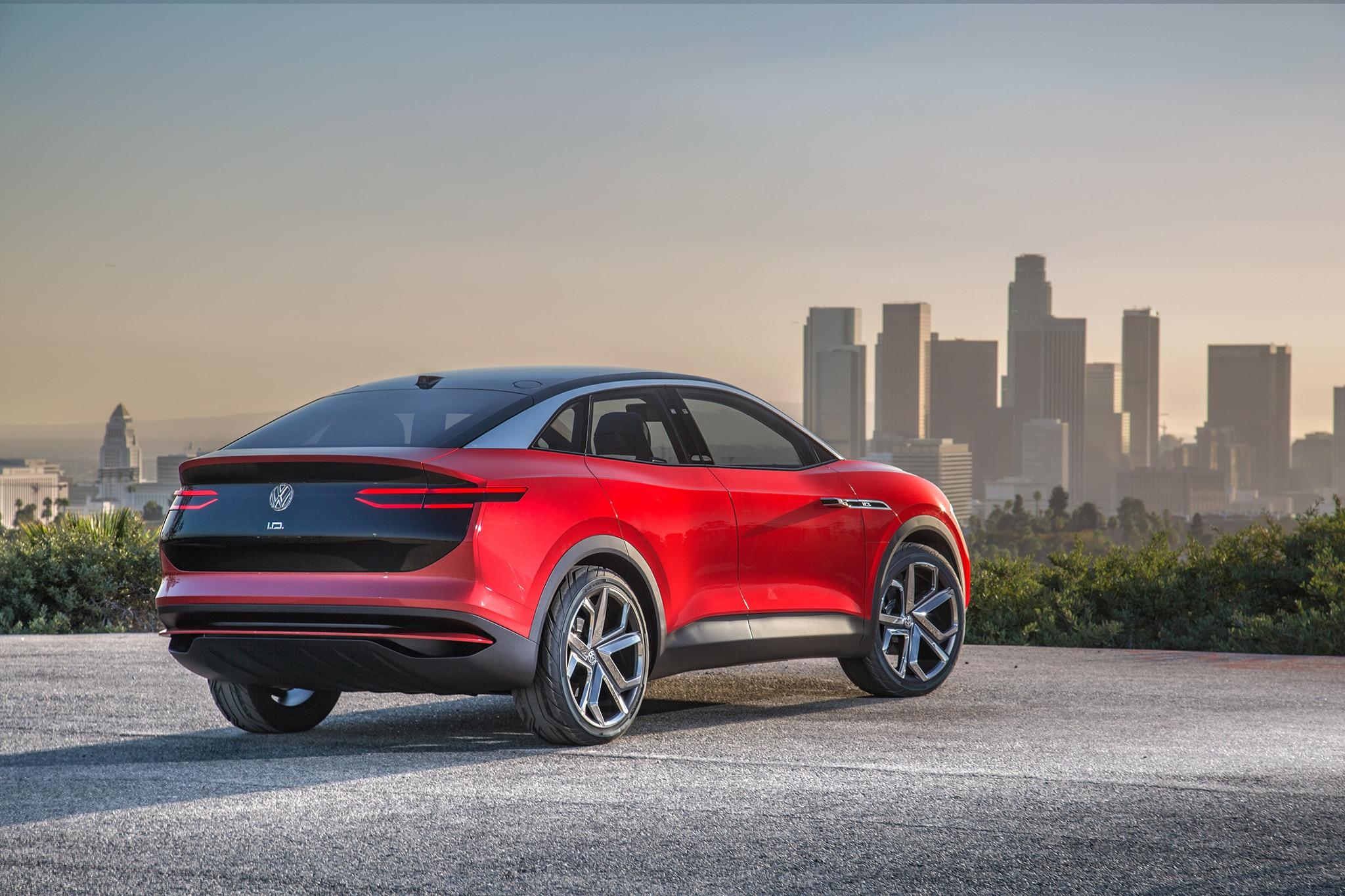 Volkswagen id crozz electric