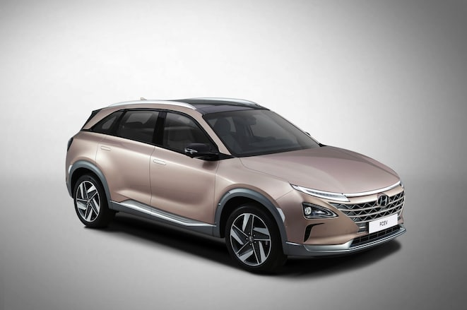Hyundai Fuel Cell SUV front