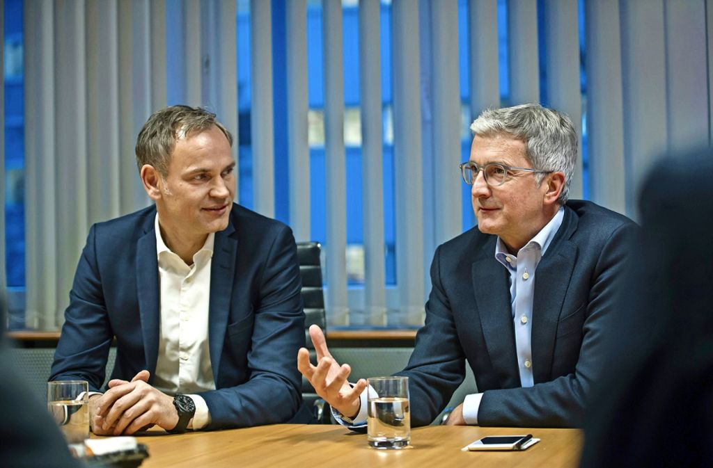 Blume Stadler Porsche Audi CEO