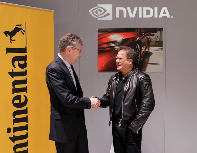Continental Nvidia Partnership