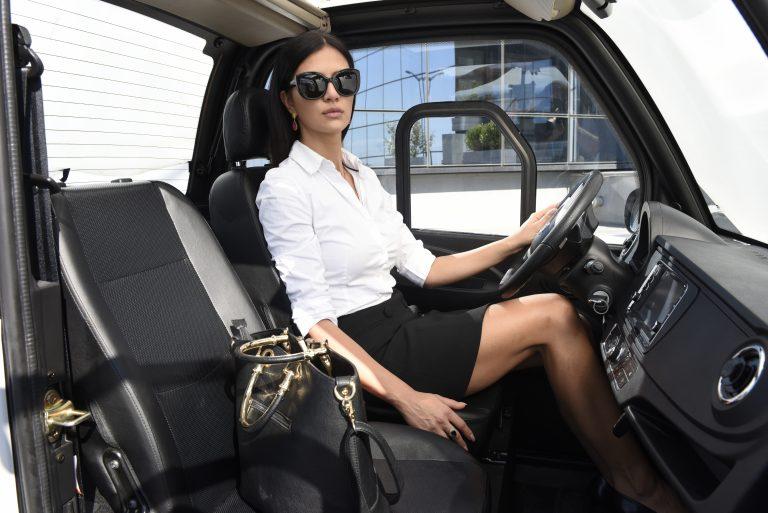 ecosun eco-car driver