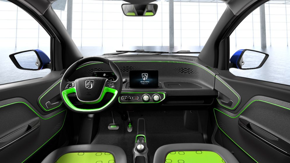 GM Baojun E100 interior