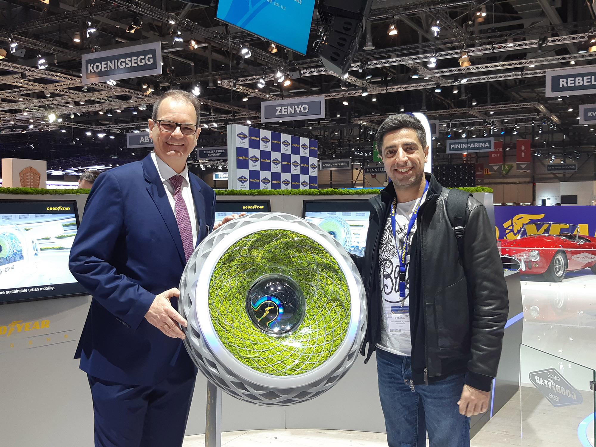 Carlos Cipolliti Goodyear Oxygen Concept Tire