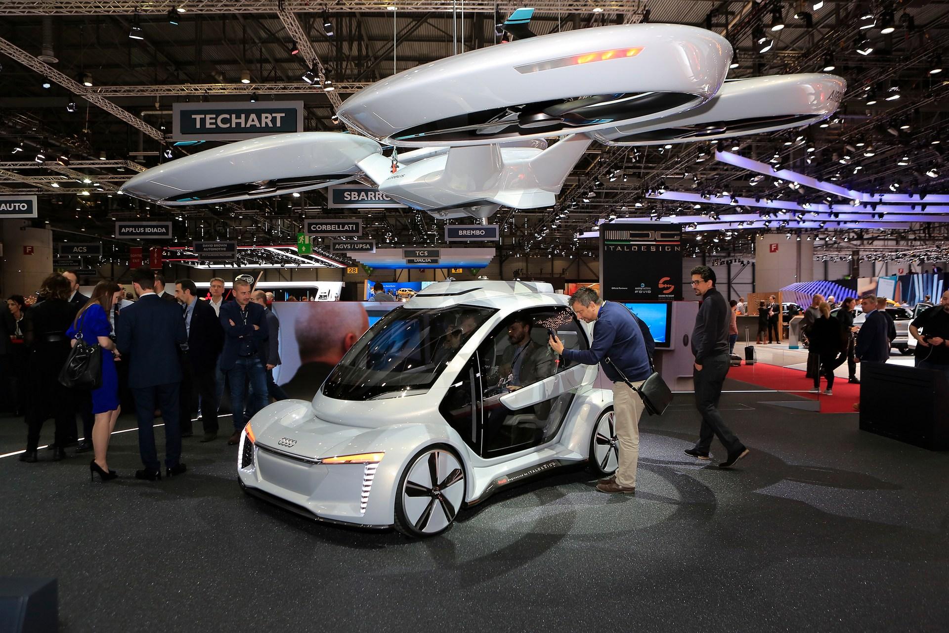 Pop.Up Next: Αυτόνομο ιπτάμενο όχημα από τις Audi, Airbus ...