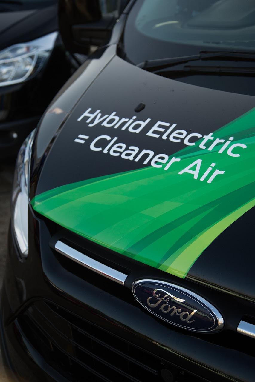 Ford Transit Plug-in Hybrid Van