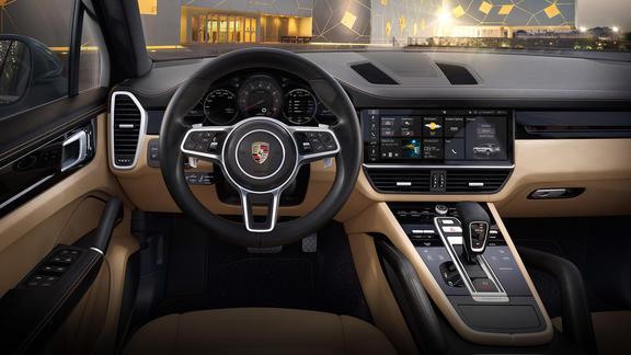 Porsche Cayenne e hybrid interior 2