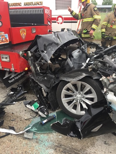 Tesla Utah accident