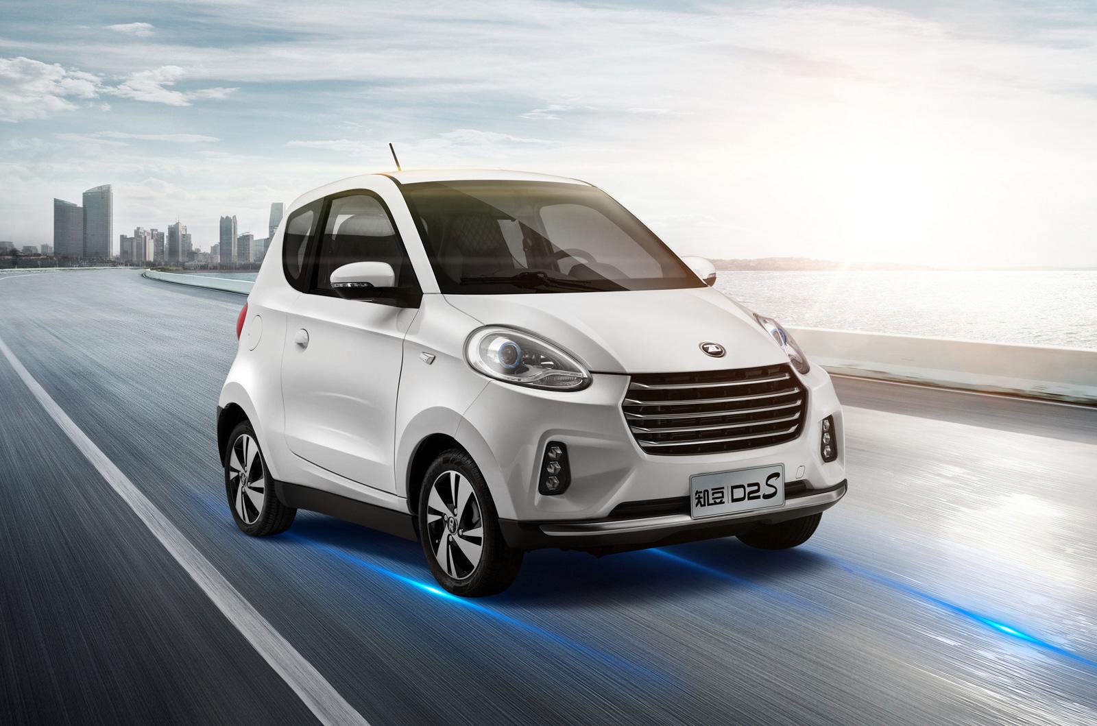 Στην Ελλάδα τα ηλεκτρικά αυτοκίνητα Zhidou D2 και D2S
