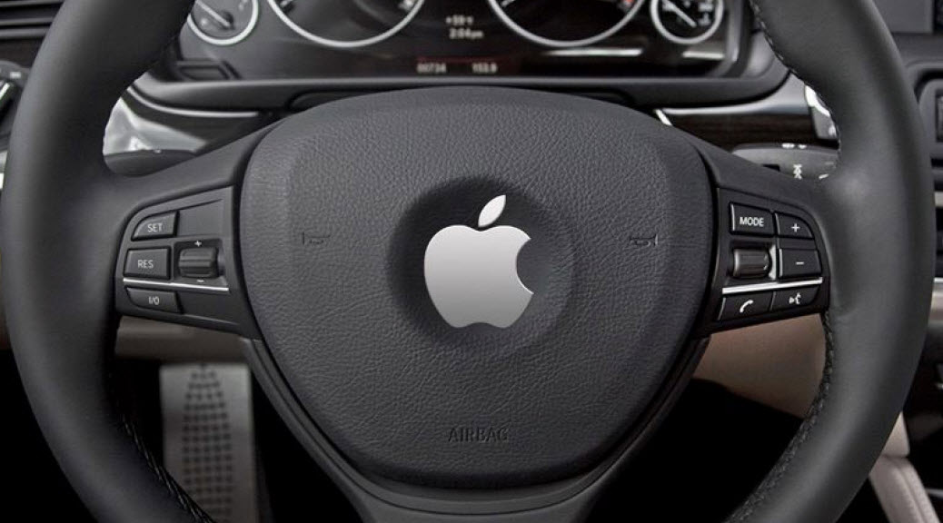 apple self driving