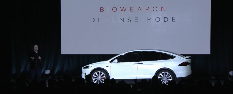 Tesla Bioweapon Defense Mode