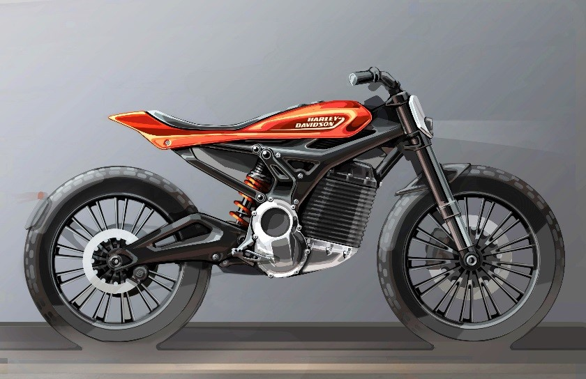Harley Davidson future electric