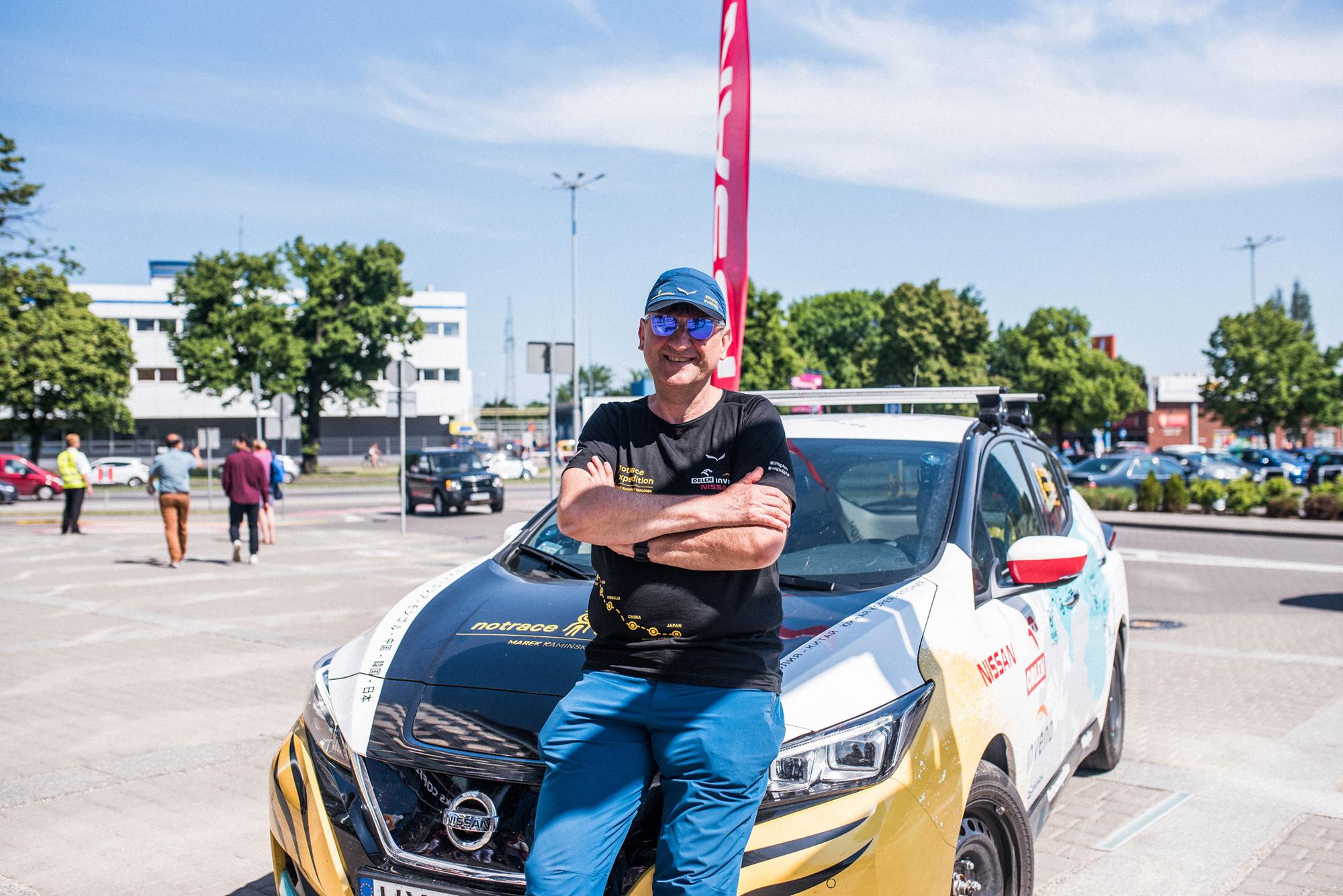 Nissan LEAF Marek Kaminski