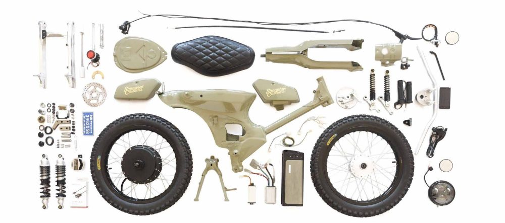 honda super cub electric diy kit