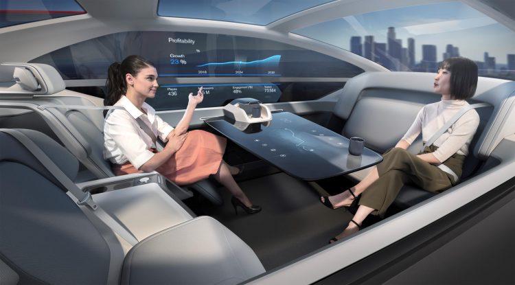 Volvo 360c concept office