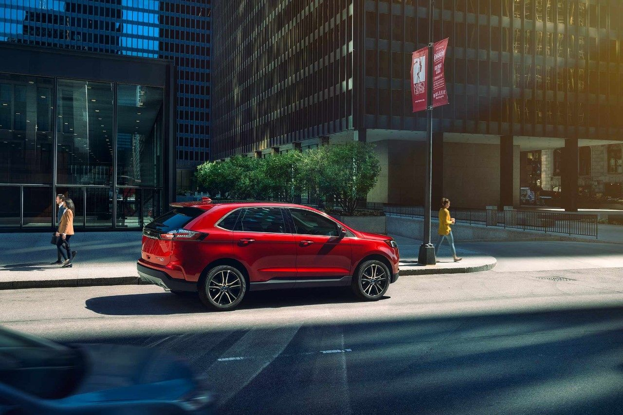 Ford Edge ST 2019 red