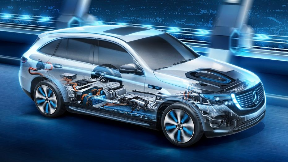 mercedes benz vehicle 2019 eqc powertrain