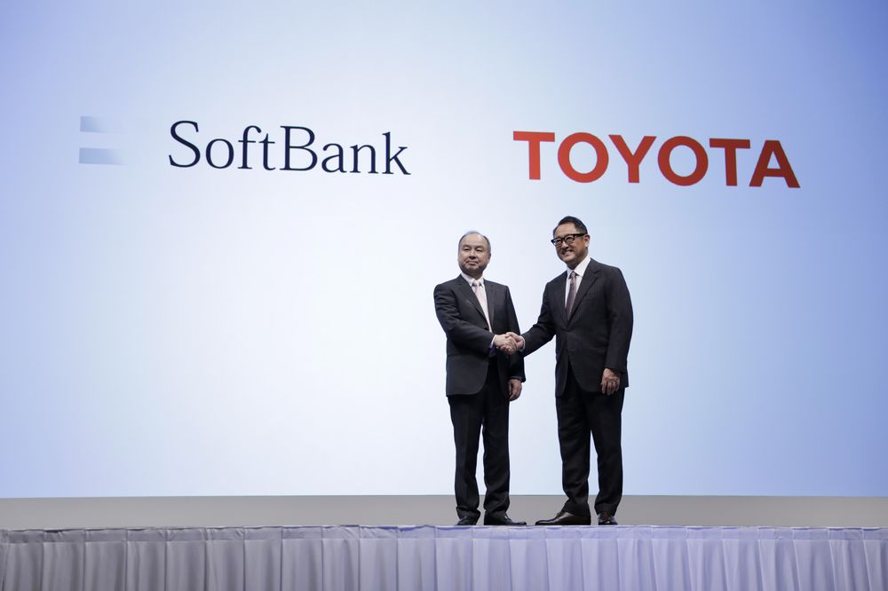 Toyota Softbank partnership
