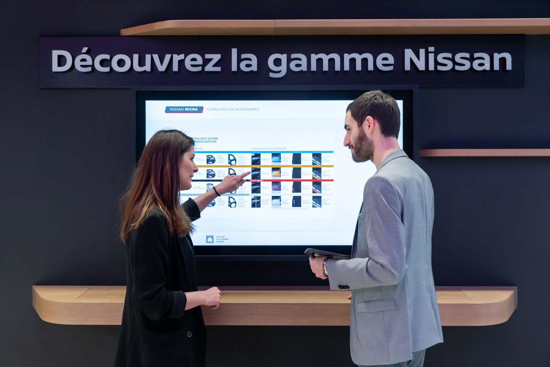 Nissan City Hub: Κάτι ανάμεσα σε ηλεκτρονικό και φυσικό κατάστημα